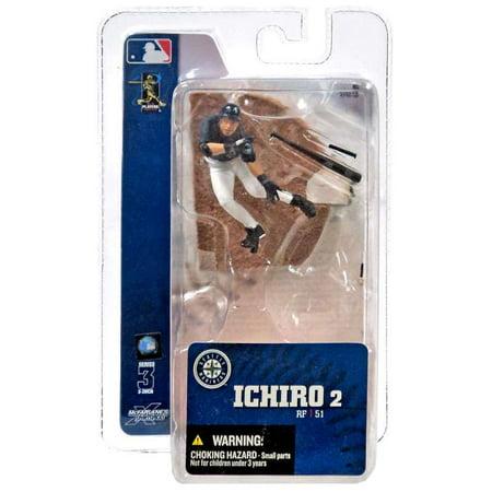 McFarlane MLB Sports Picks 3 Inch Mini Series 3 Ichiro Mini Figure