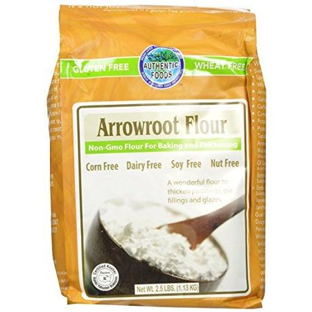 Authentic Foods Arrowroot Flour - 2.5 lb Bag [2 Pack