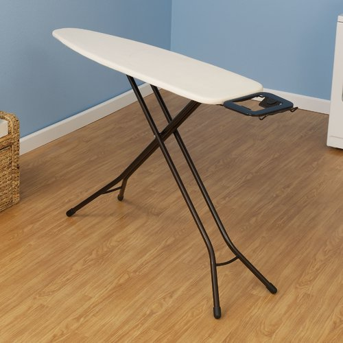 Household Essentials Ultra 4-Leg Freestanding Ironing Board with Iron Rest