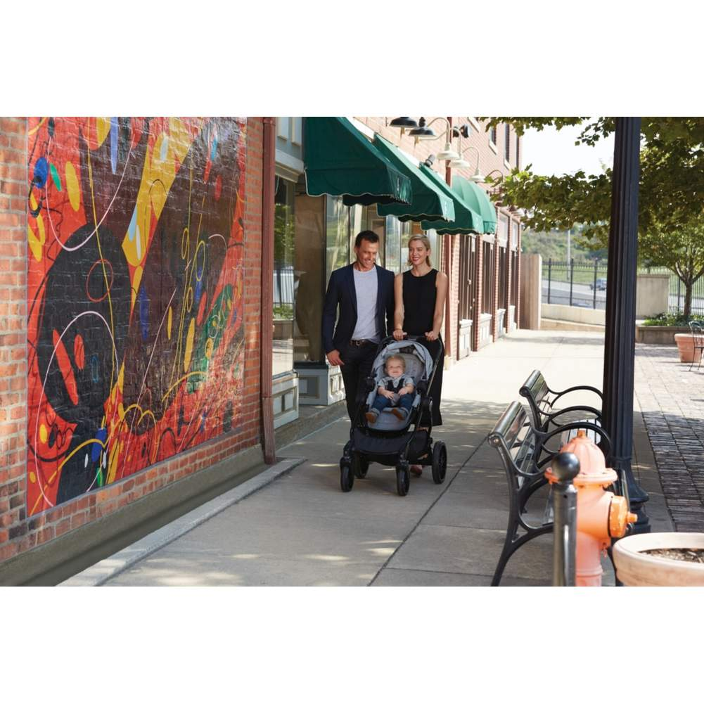 Baby Jogger City Select LUX Stroller & Second Seat Combo - Slate - image 4 of 6