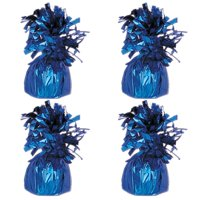 Foil Balloon Weight, Royal Blue, 4-Pack (4 Weights)