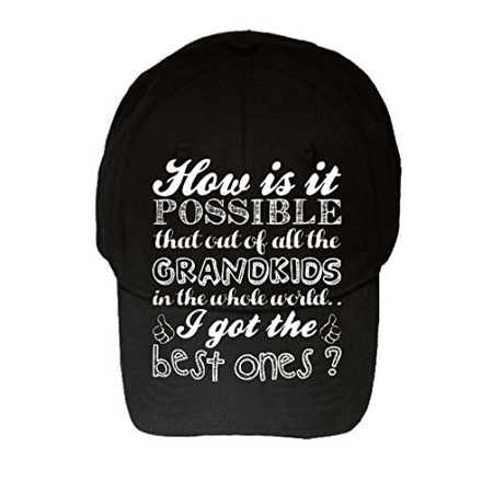 Best kids 100% Adjustable Hat - Gift For Grandparents! Parents, Birthday