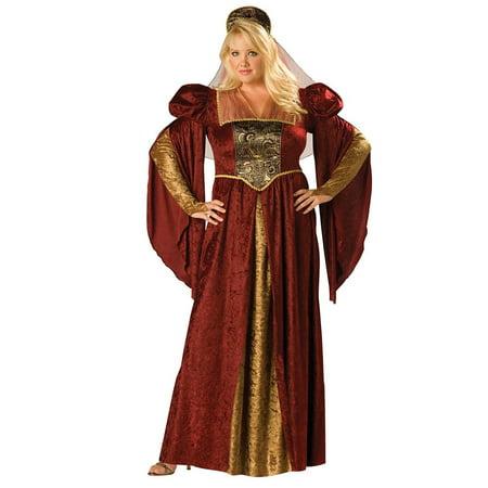 Womens Plus Renaissance Maiden Costume - Plus Size Renaissance Costumes 4x