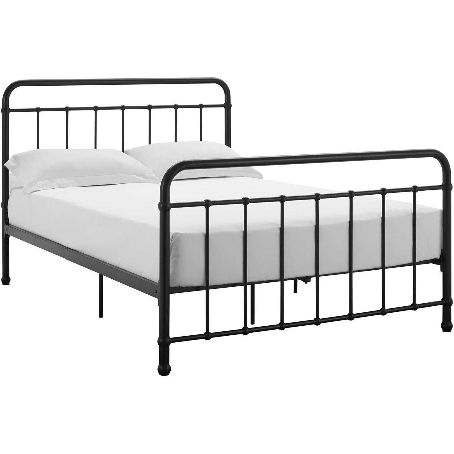Homes Dorm Space Saver Twin Size Metal Bed Frame Furniture