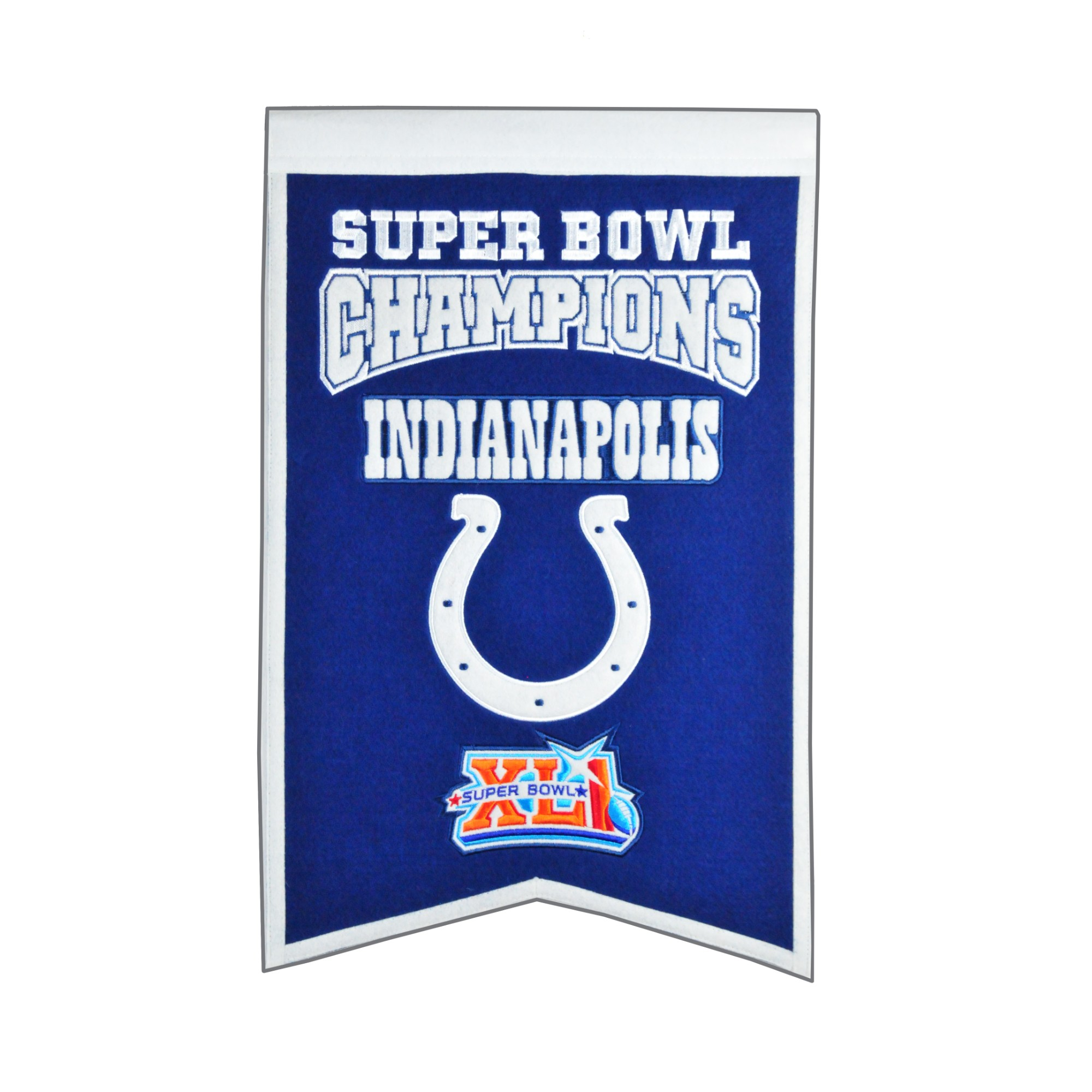 Winning Streak - NFL Champions Super Bowl Banner, Indianapolis Colts