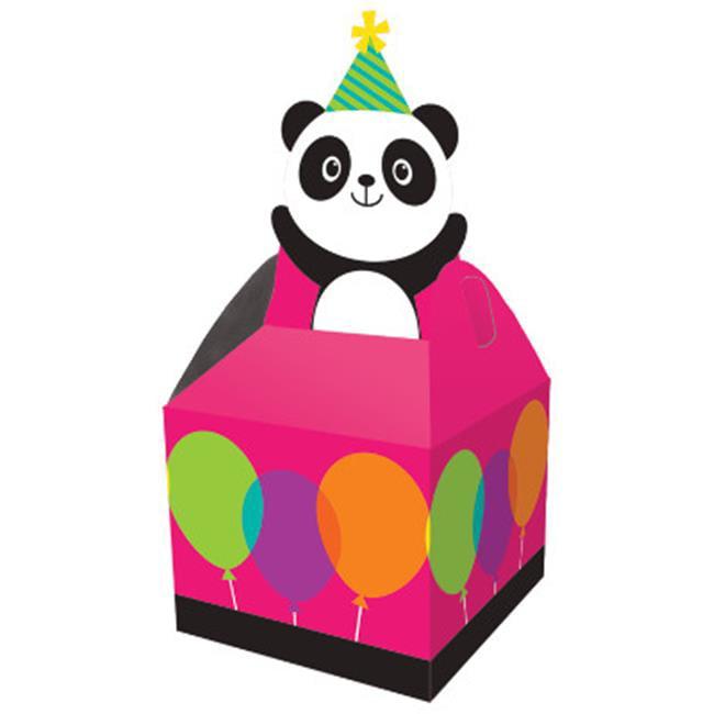 Group  Panda-Monium Favor Box, Pack of 6 - 8 Per Pack
