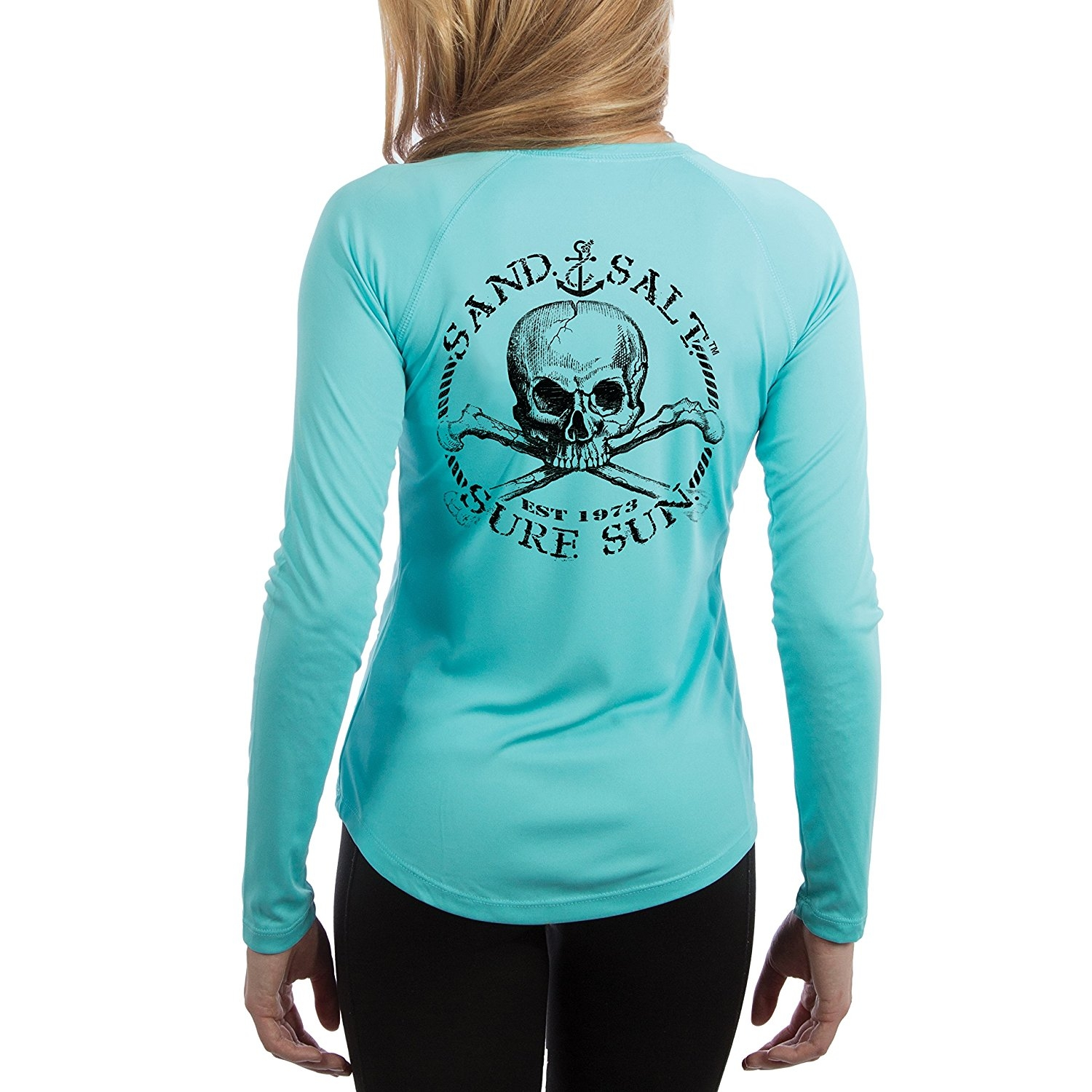 Skull Women's UPF 50+ UV/Sun Protection Performance T-shirt