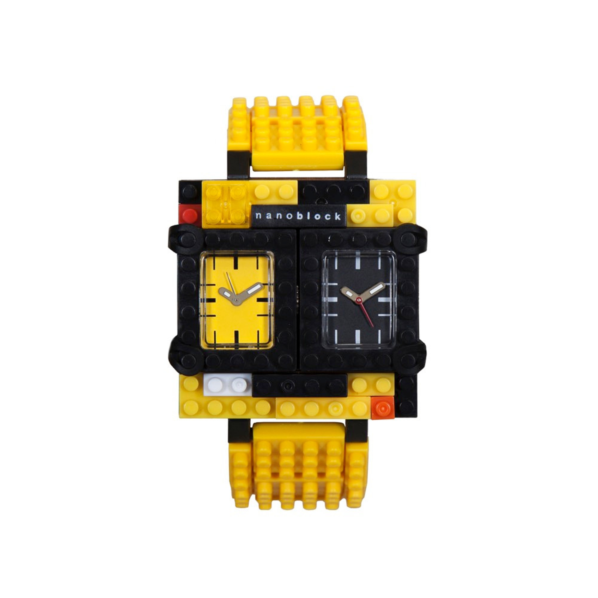 Nanoblocktime Traveler Watch, Yellow by Beta Enteprises Inc.