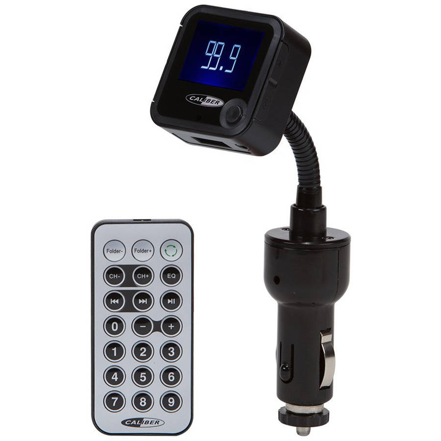 In-Car FM Transmitter with RDS