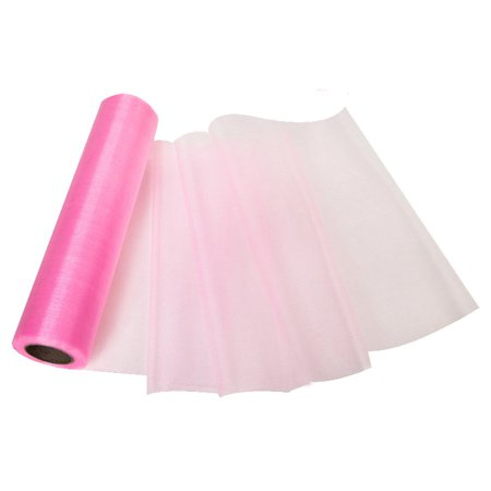 - Cottcuboaba 11 Inch x 27 Yards Tulle Roll Spool Fabric Table Runner Chair Sash Bow Tutu Skirt Sewing Crafting Fabric Wedding Party Gift Ribbon