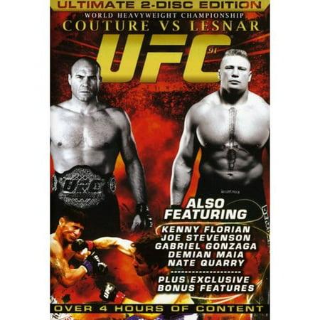 UFC 91: Couture Vs. Lesnar (Widescreen) (The Rock Vs Brock Lesnar Summerslam 2012)