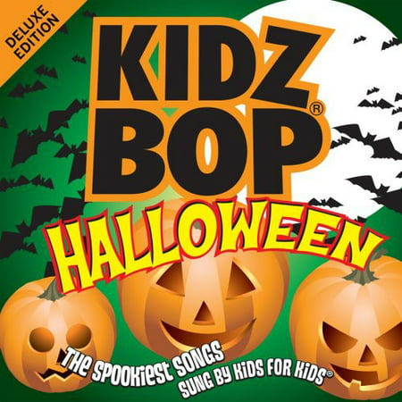 Kidz Bop Halloween (CD) - Halloween Music For All Ages