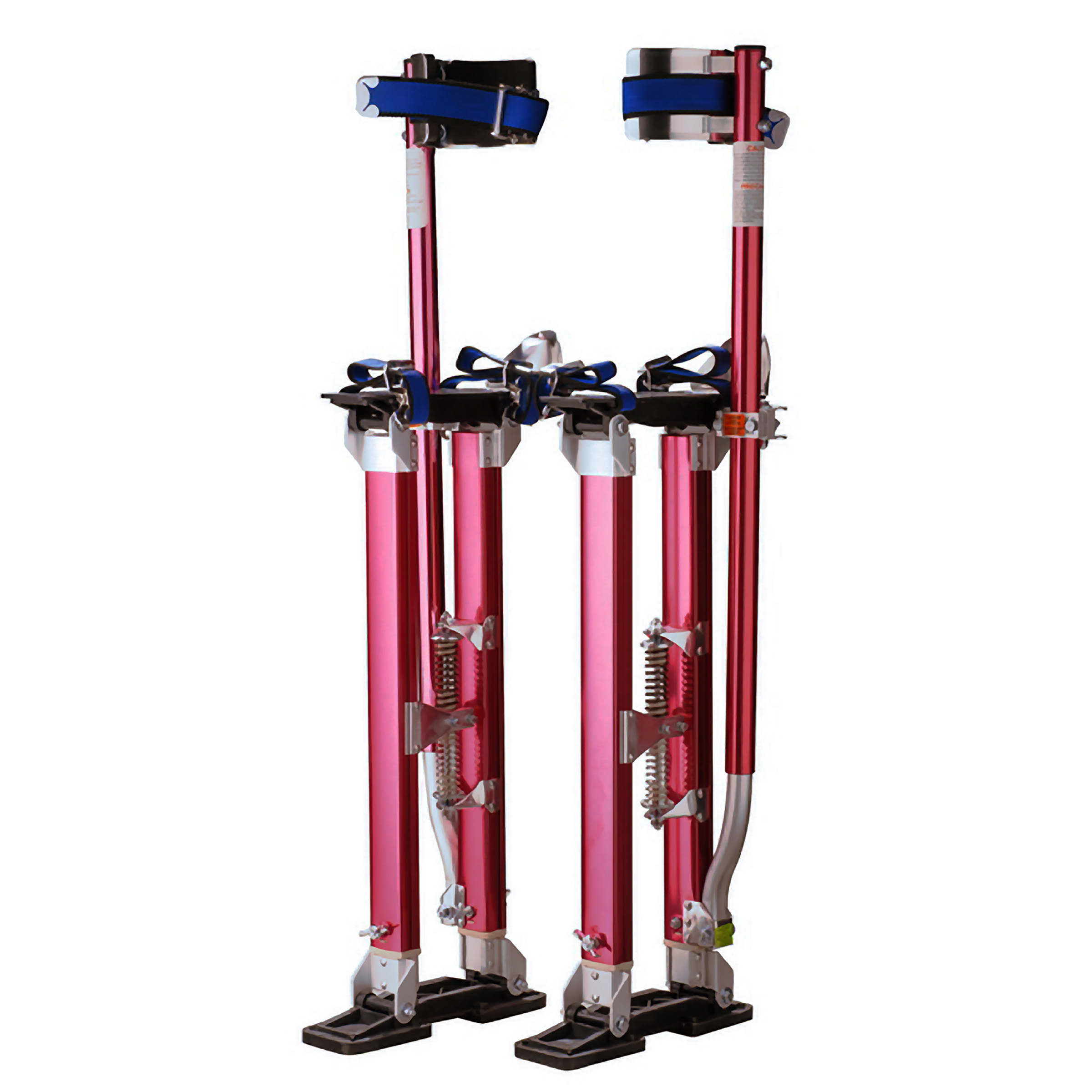 "Pentagon Tool Professional 18""-30"" Red Drywall - Painting - Work Stilts Aluminum"