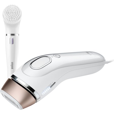 Gillette Venus Silk-expert IPL (Intense Pulsed Light), powered by Braun- BD 5008 + facial cleansing brush