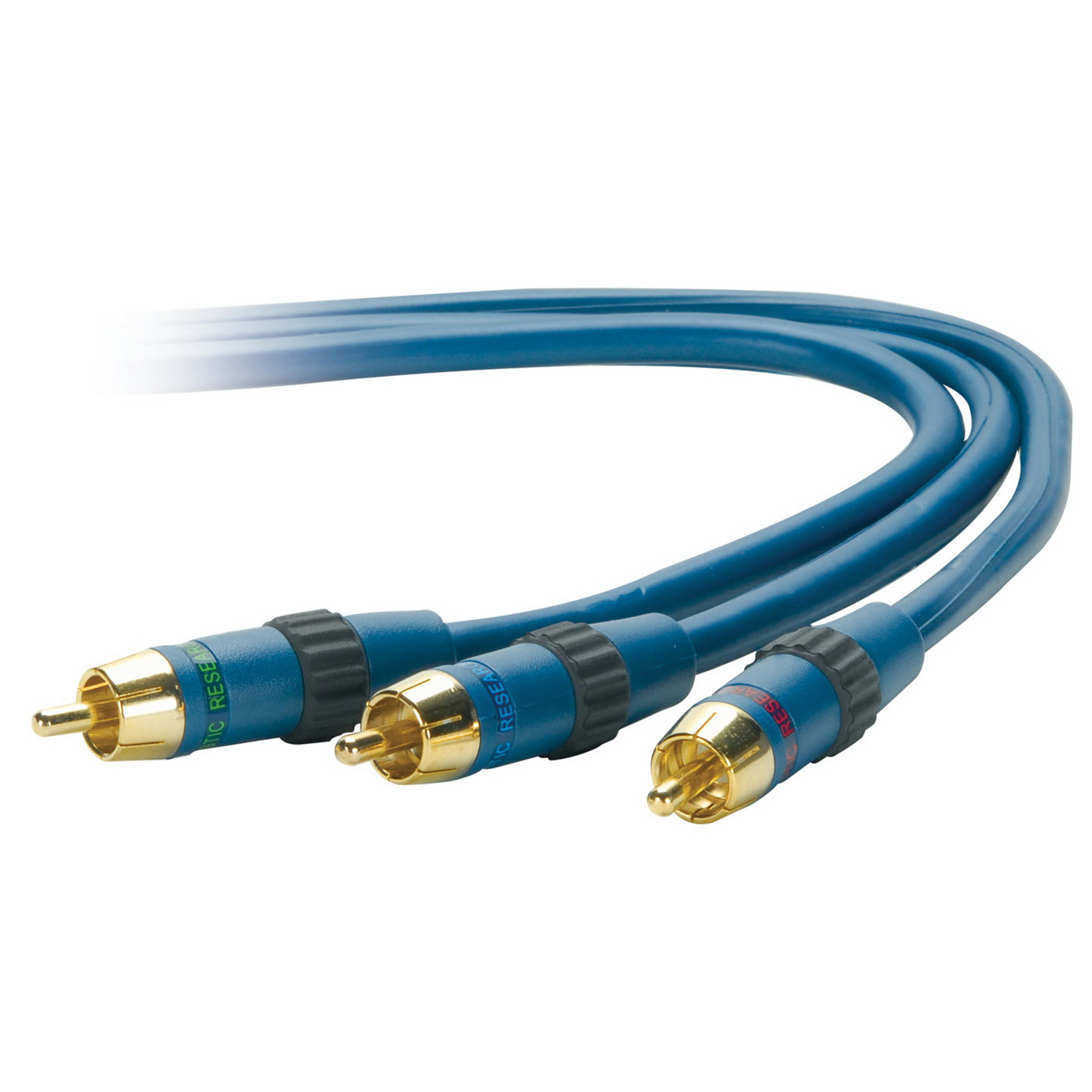 AR AP092N Component Video 3 RCA to 3 RCA RGB Cable 12 ft Supports 720p and 1080p HD Signal