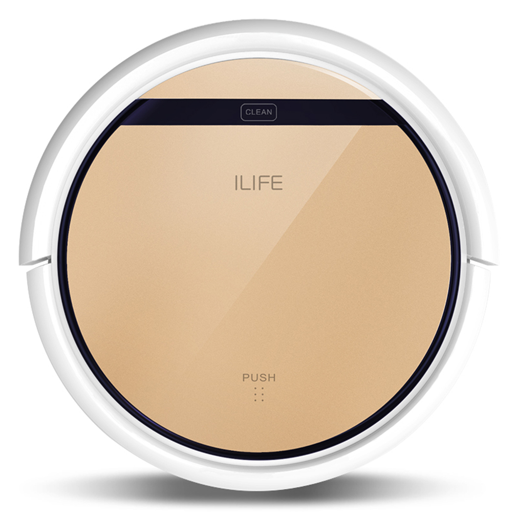 ILIFE V5S Robot Vacuum Cleaner Smart Automatic Self-Charg...