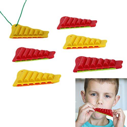 Dazzling Toys Perfect Party Favor 2 ½ Inch Zampona Whistles 24 Pack