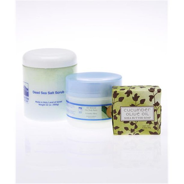 Dead Sea Spa Care DeadSea-208 Assorted Shea Body Soaps