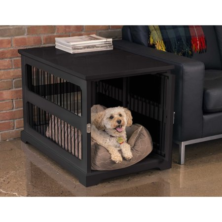 Merry Products Slide Aside Dog Crate & Kennel End Table