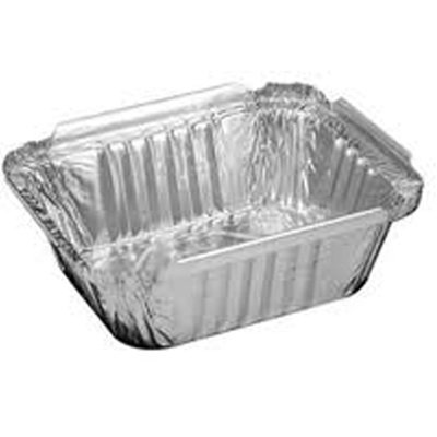 16 oz Oblong Aluminum Pan/Case of 1000 (16 Oz Baking Dish)