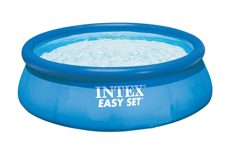 Intex 12 X 30 Easy Set Inflatable Above Ground Swimming Pool Pump Filter Walmart Com Walmart Com