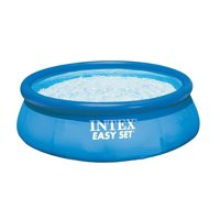 "Intex 12' x 30"" Easy Set Inflatable Above Ground Swimming Pool Pump & Filter"