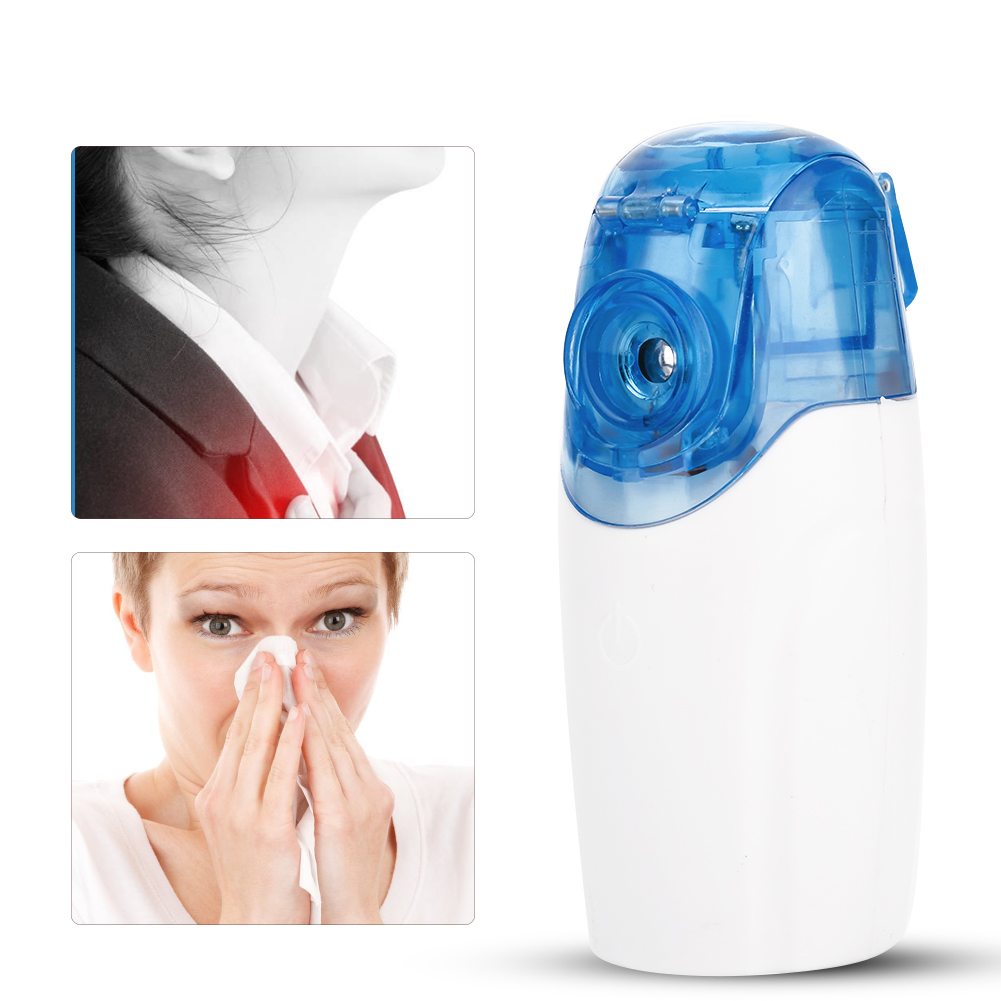 Portable Microporous Ultrasonic Nebulizer Atomizer Beauty Instrument Spray Steamer Humidifier
