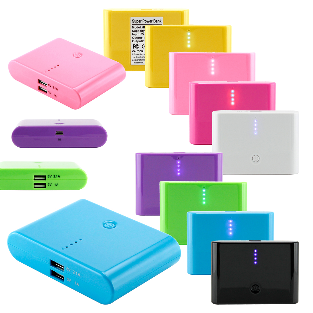 12000mAh Universal Power Bank Backup External Battery Pack Portable USB Charger For Tablet ...