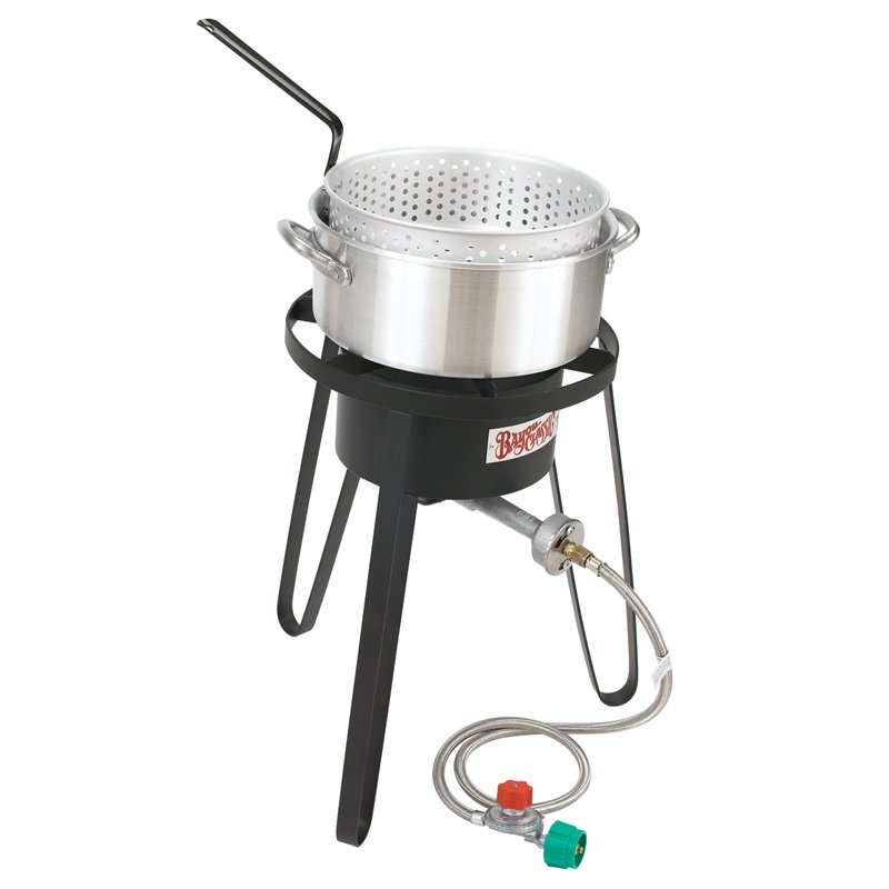 Bayou Classic Outdoor Sportmans Choice Fish Cooker