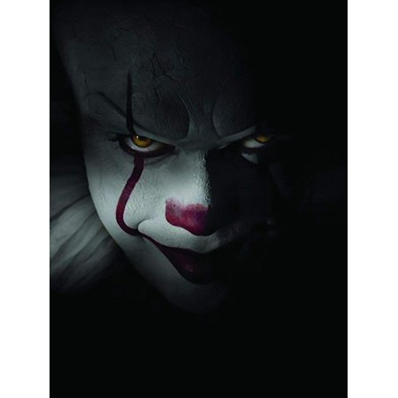 It The Movie Pennywise Window Cling Halloween Decoration - Sale Halloween Decorations