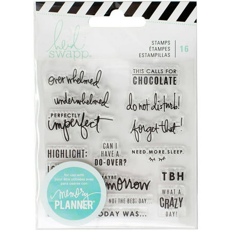 Heidi Swapp Memory Planner Clear Stamps