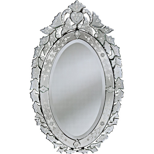 Venetian Gems  Angela Small Venetian Wall Mirror