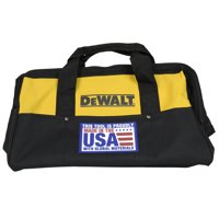 "DeWalt Power Tools USA 18"" Heavy Duty Canvas Contractor Tool Bag"
