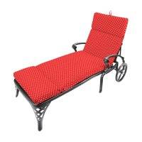 Jordan Manufacturing French Edge Outdoor Chaise Lounge Cushion - Mini Dots