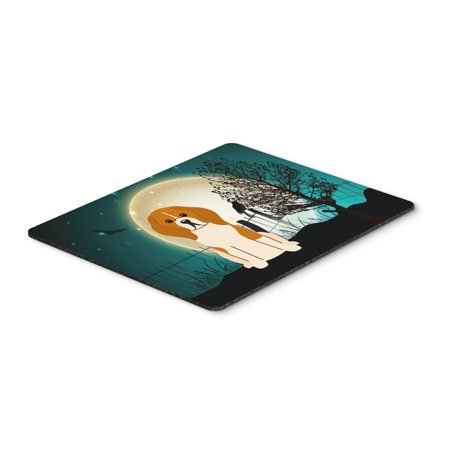 Halloween Scary Beagle Tricolor Mouse Pad, Hot Pad or Trivet BB2230MP](Halloween Beetle)