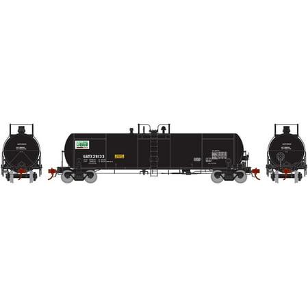 Athearn Genesis HO Scale GATC 20,000-Gallon Acid Tank Car GATX/Agro Culture #1