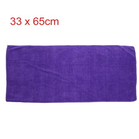 2pcs Violet Rouge Maison Voiture polissage nettoyage sèche-serviettes 33cmx65cm - image 2 de 5