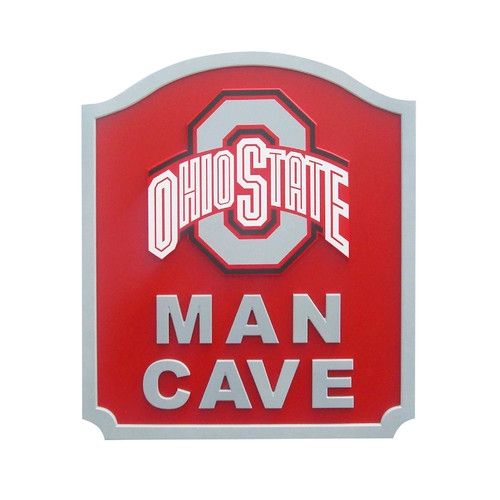 Fan Creations NCAA Man Cave Textual Art Plaque