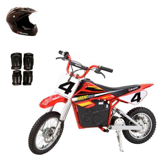Razor MX500 Dirt Rocket Electric Bike Motorcycle with Hel...