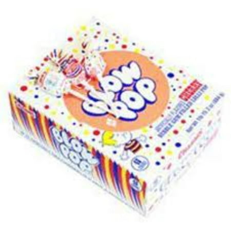 Charms Blow Pops Cherry Lollipops 48 ct (Hugs Lollipop)