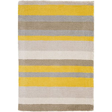 angelo:HOME by Surya Madison Square MDS-1008 Transitional Hand Loomed 100% Wool Citrine 2' x 3' Geometric Accent Rug - image 1 of 1
