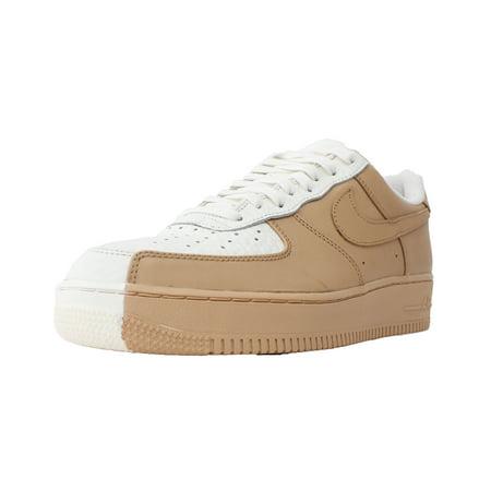 bd1e6bdd1de Nike - NIKE AIR FORCE 1 07 PREMIUM SPLIT SZ 10 SAIL VACHETTA TAN 905345 105  - Walmart.com