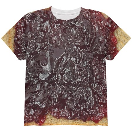 Halloween Jelly PB Costume All Over Youth T Shirt](Halloween Eyeball Jelly)