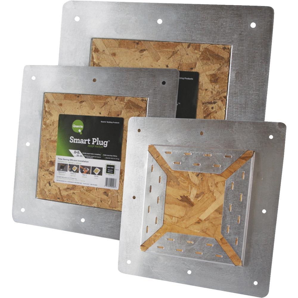 Quarrix Building Products 8x8smart Plug Roof Patch 99008