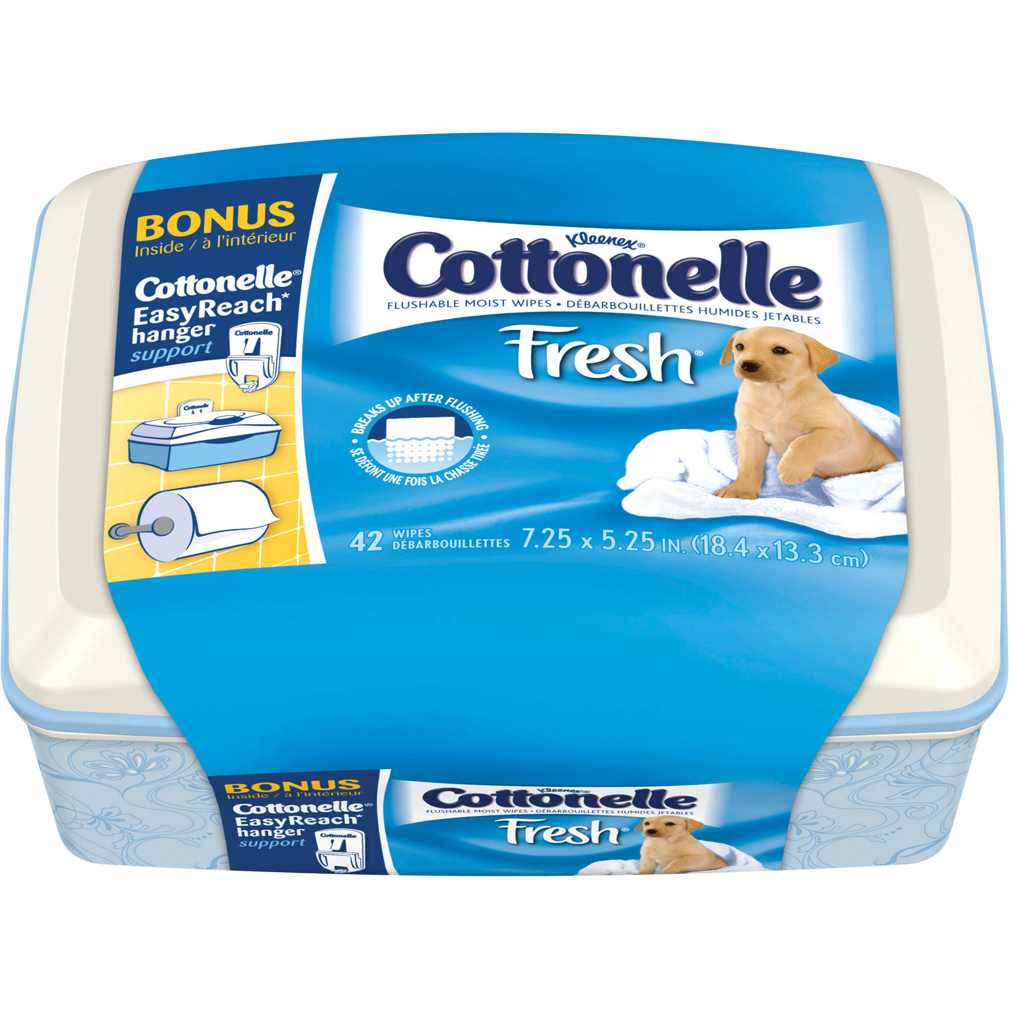 Cottonelle Fresh Wipes, 42 Sheets