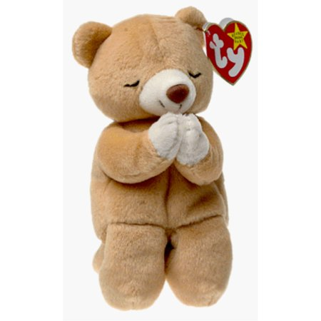 Beanie Baby Display Cases - ty beanie babies hope - praying bear