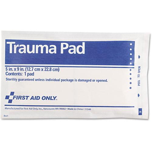 First Aid Only Trauma Pad