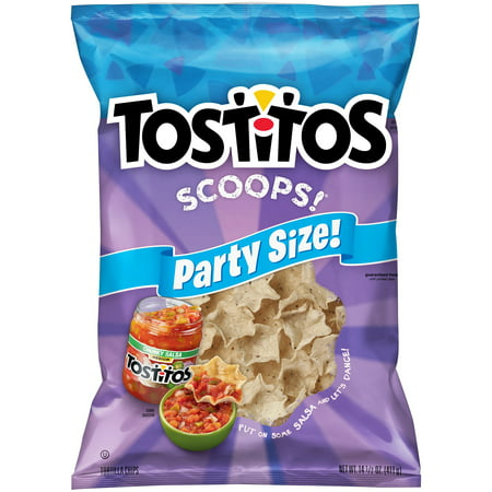 Tostitos Scoops! Party Size Tortilla Chips, 14.5 -