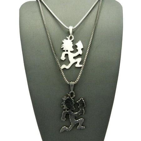 Rumple hatchetman pendant set 2mm 24 30 box chain necklaces in rumple hatchetman pendant set 2mm 24 30 box chain necklaces in silver aloadofball Gallery
