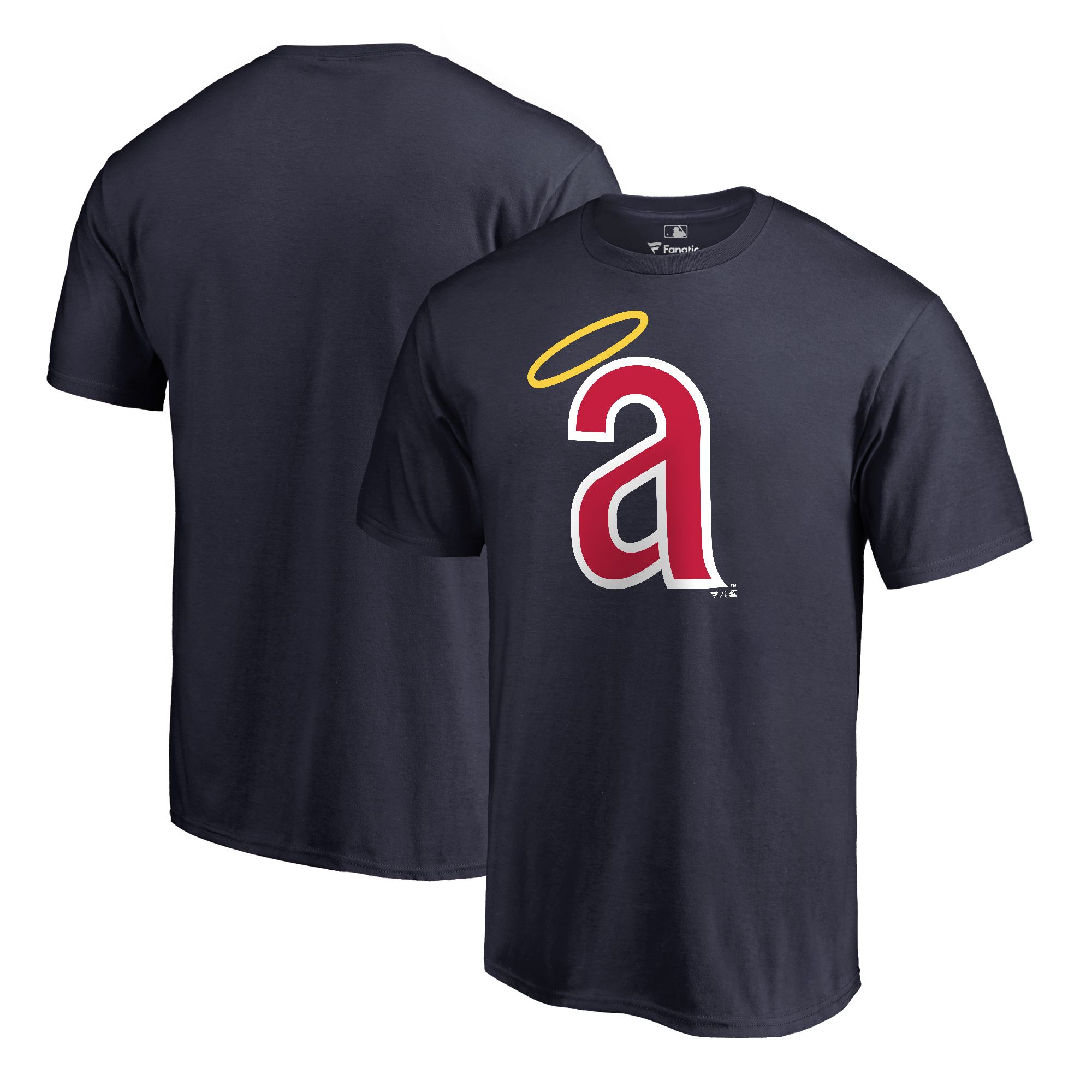 Los Angeles Angels Fanatics Branded Cooperstown Collection Huntington T-Shirt - Navy
